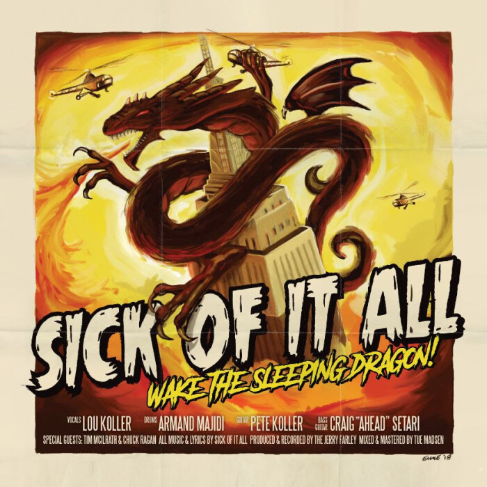 SICK OF IT ALL RELEASES 'NEVER BACK DOWN'