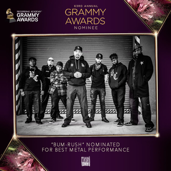 """Body Count earns """"Best Metal Performance"""" Grammy nomination for 'Bum-Rush'"""