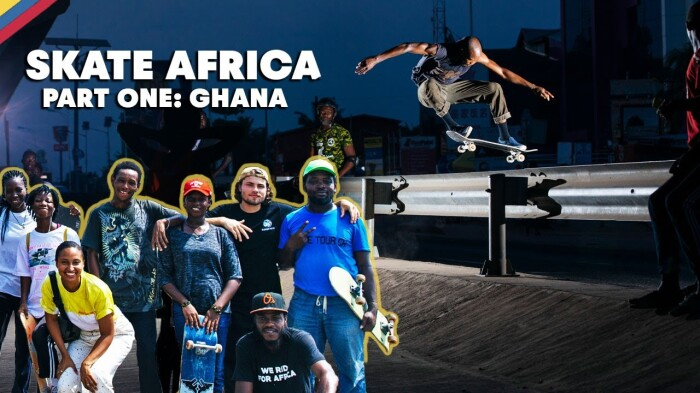 Meet the local skaters of Ghana with Jaakko Ojanen & crew