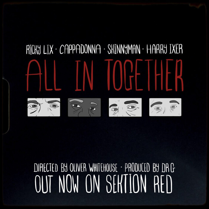Cappadonna, Skinnyman, Ricky Lix, Harry Ixer 'All In Together'