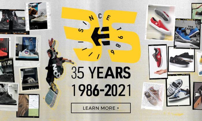 Past, Present, Future   35 years of etnies