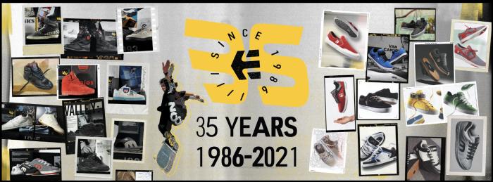 Etnies festeggia 35 anni