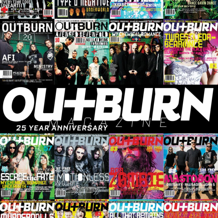 Outburn Magazine celebrates 25th Anniversary with return to print format