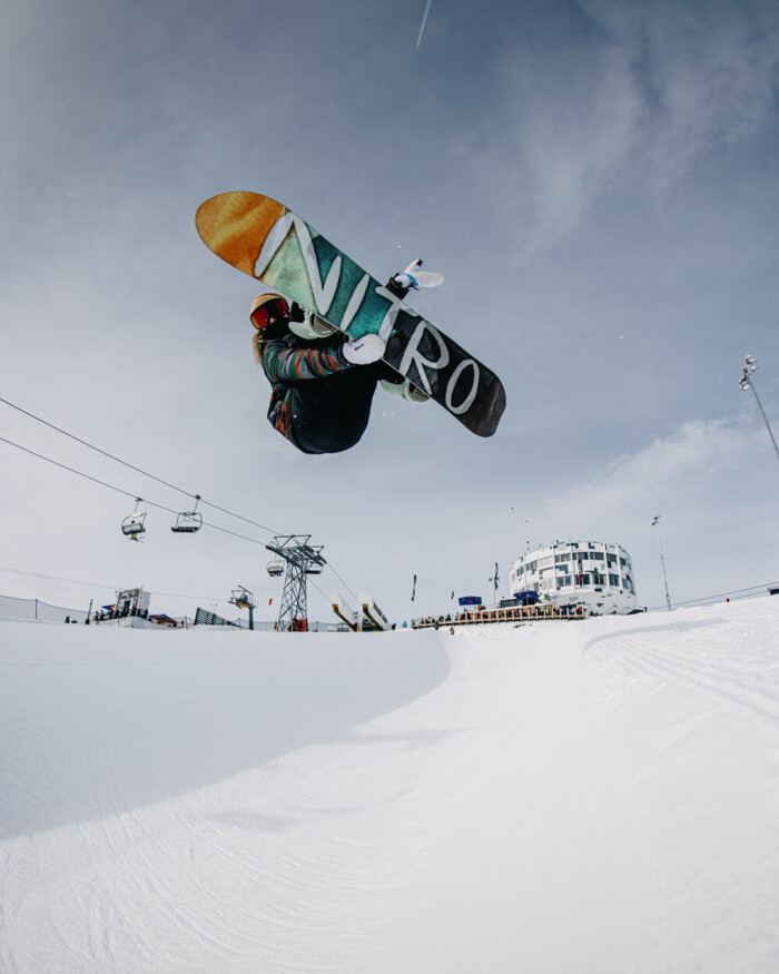 THE NITRO TEAM AT THE LAAX OPEN