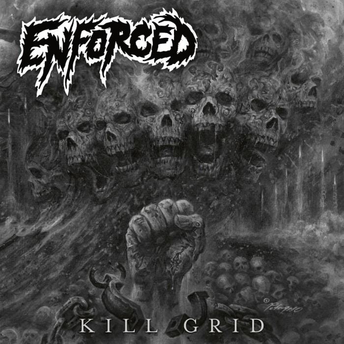 ENFORCED RELEASES VISUALIZER VIDEO FOR 'CURTAIN FIRE' OFF KILL GRID