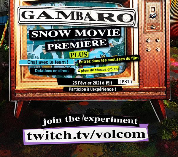 Volcom Premiere 'Gambaro' on February 26