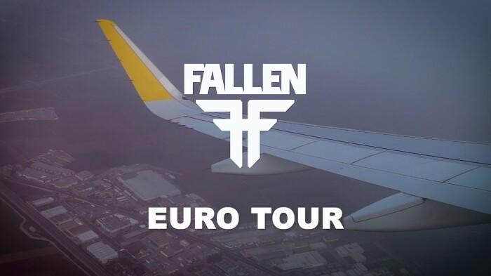 Fallen Footwear Euro Tour