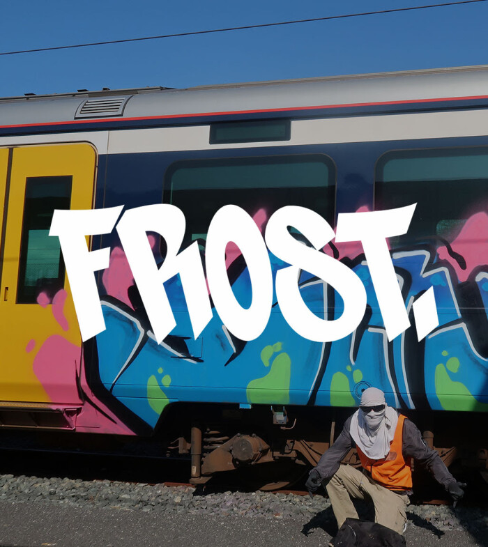 BSP Clothing Five For Five – FROST Graffiti interview