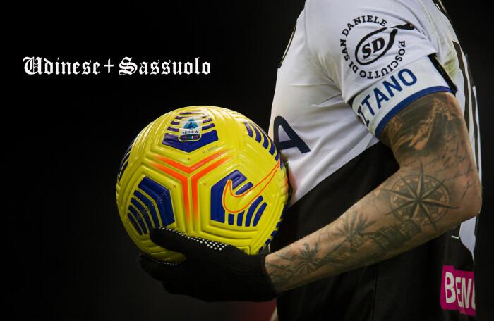UDINESE / SASSUOLO 2 – 0