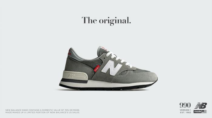 New Balance lancia le Made 990 Version Series in omaggio alla silhouette classica