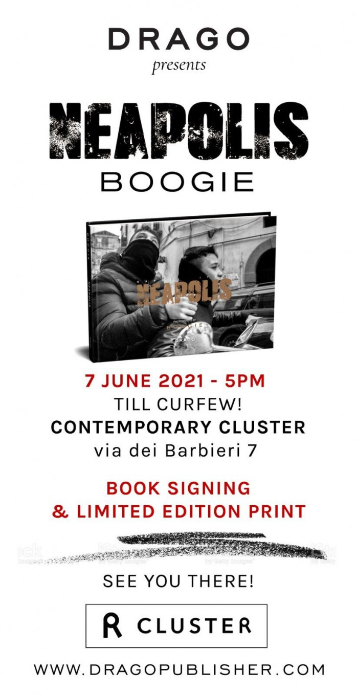 Meet Boogie in Rome at Contemporary Cluster on Monday June 7th from 5pm