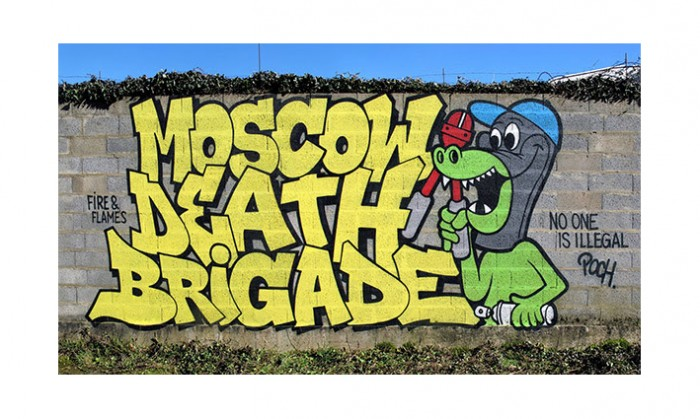 MOSCOW DEATH BRIGADE SUPPORT SEA-WATCH WITH BENEFIT SHIRT