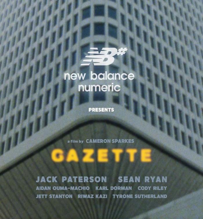 NEW BALANCE NUMERIC AUSTRALIA PRESENTS 'GAZETTE'