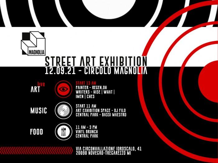 Circolo Magnolia – Writing e Painting live session – Domenica 12 Settembre
