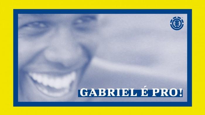 Element Skateboards 'Gabriel É Pro!' Part